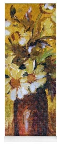 Bouquet Flowers Of Gold Yoga Mat
