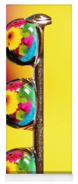 Bouquet In A Pin Drop Yoga Mat