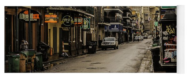 Bourbon Street By Day Yoga Mat