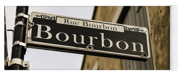 Bourbon Street, New Orleans, Louisiana Yoga Mat