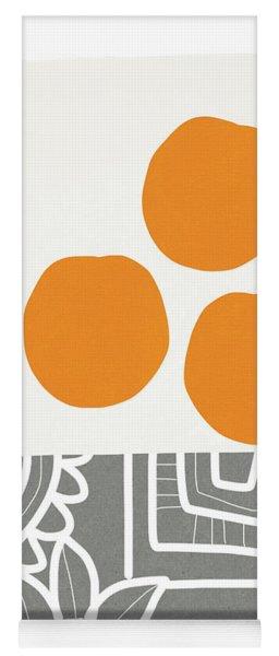 Bowl Of Oranges- Art By Linda Woods Yoga Mat