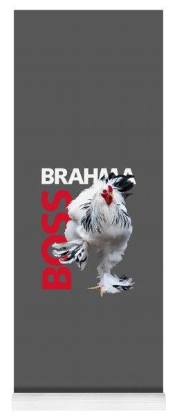 Brahma Boss T-shirt Print Yoga Mat