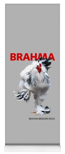 Brahma Breeders Rock Red Yoga Mat