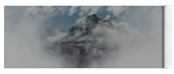 Brahma Temple In A Sea Of Clouds Yoga Mat