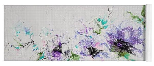 Branch Of Violet  Yoga Mat