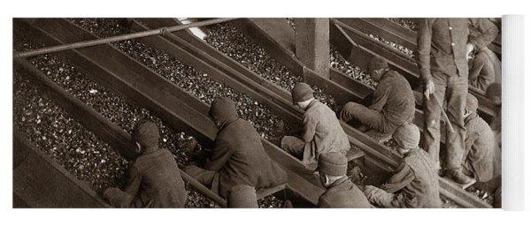 Breaker Boys Lehigh Valley Coal Co Maltby Pa Near Swoyersville Pa Early 1900s Yoga Mat