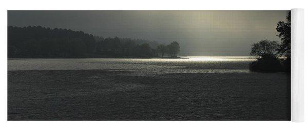 Breaking Out Sunrise Lake Oconee Georgia Yoga Mat