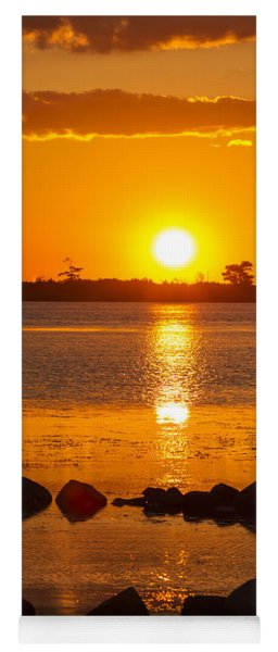 Breakwater Sunset Yoga Mat