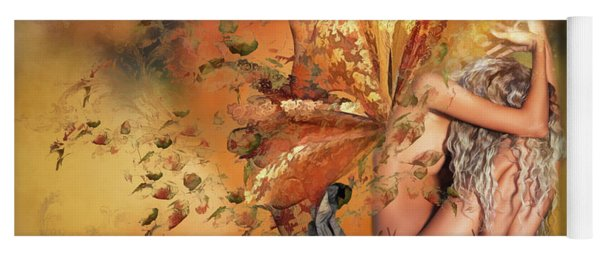 Breath Of Autumn Yoga Mat
