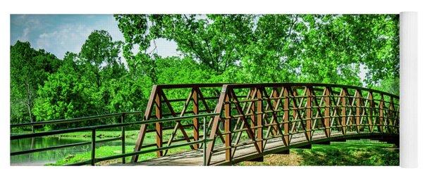 Bridge At Ritter Springs Yoga Mat