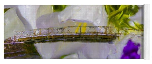 Bridge Flower.  Yoga Mat