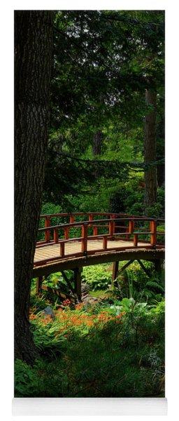 Bridge In The Zen Garden Yoga Mat