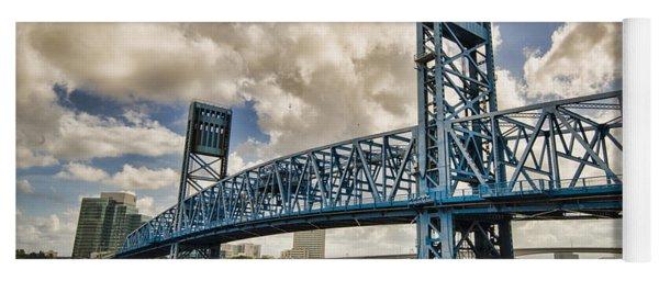Bridge Of Blues Yoga Mat