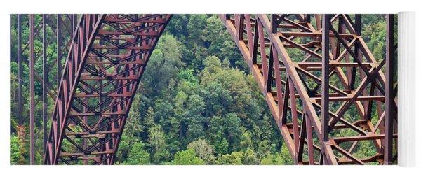 Bridge Of Trees Yoga Mat
