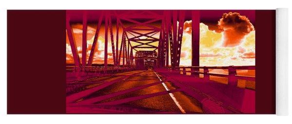 Bridge To Astoria #1 Yoga Mat