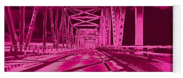 Bridge To Astoria #3 Yoga Mat