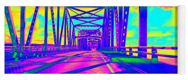 bridge to Astoria #5 Yoga Mat