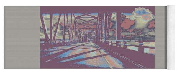 bridge to Astoria #6 Yoga Mat