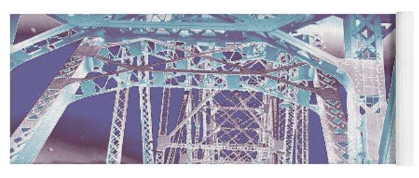 bridge to Longview #1 Yoga Mat