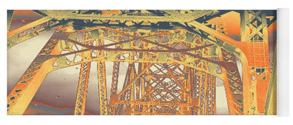 bridge to Longview #2 Yoga Mat