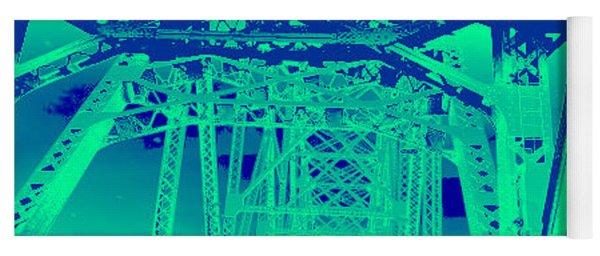 bridge to Longview #3 Yoga Mat