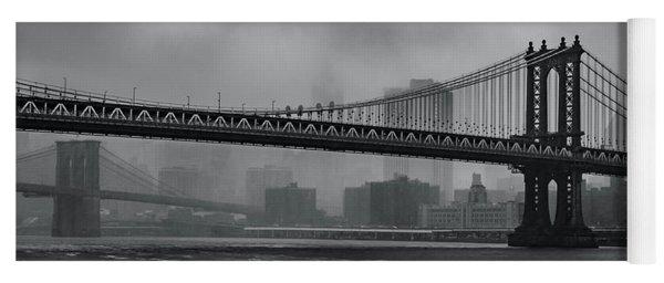 Bridges In The Storm Yoga Mat