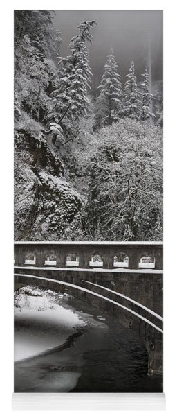 Bridges Of Multnomah Falls Yoga Mat