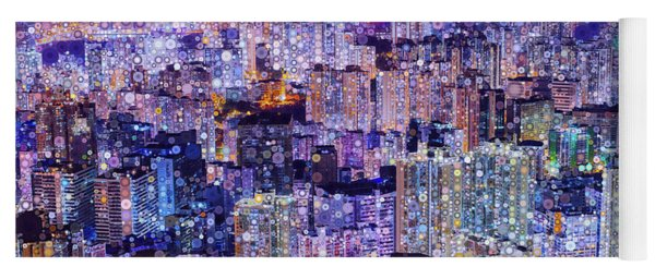 Bright Lights, Big City Yoga Mat