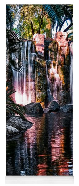 Yoga Mat featuring the photograph Bright Waterfalls by Christopher Holmes