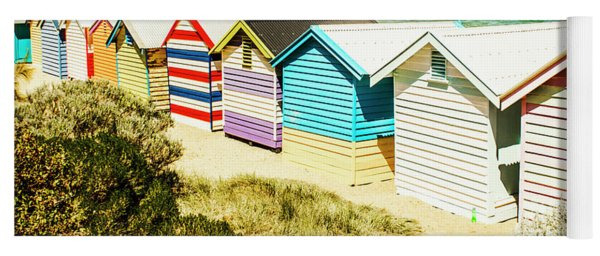 Brighton Beach, Melbourne Yoga Mat
