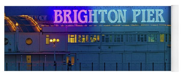 Brighton Pier And The Starlings Yoga Mat