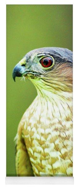 Broad-winged Hawk Profile Yoga Mat