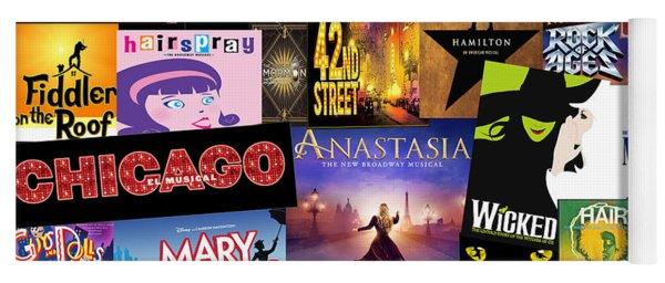 Broadway 14 Yoga Mat