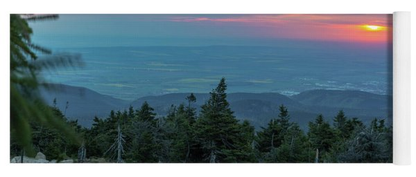 Brocken, Harz - Just After Sunrise Yoga Mat