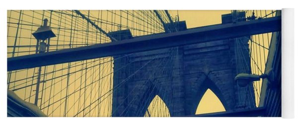 New York City's Famous Brooklyn Bridge Yoga Mat