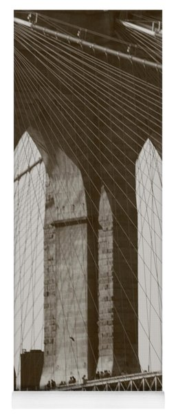 Brooklyn Bridge Afternoon Yoga Mat