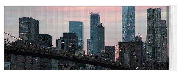 Brooklyn Bridge New York Yoga Mat