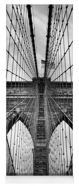 Brooklyn Bridge Mood Yoga Mat