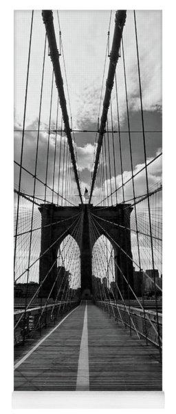 Brooklyn Bridge Vertical Yoga Mat