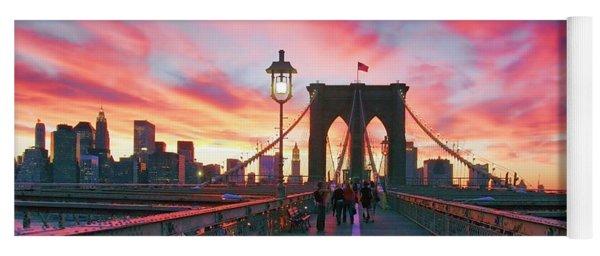 Brooklyn Sunset Yoga Mat