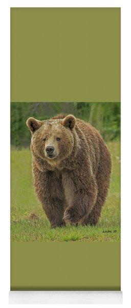 Brown Bear 1 Yoga Mat