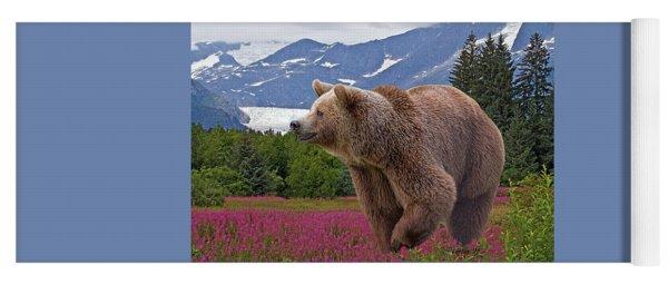 Brown Bear 2 Yoga Mat