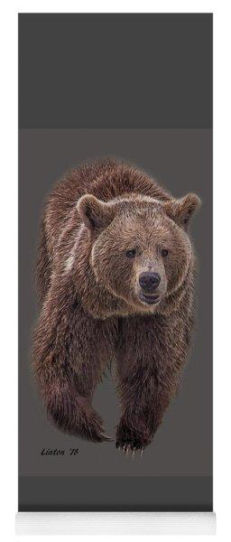 Brown Bear 8   Yoga Mat