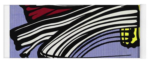 Brushstroke -1965 Yoga Mat