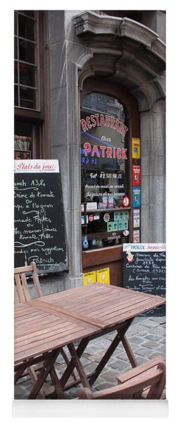 Brussels - Restaurant Chez Patrick Yoga Mat