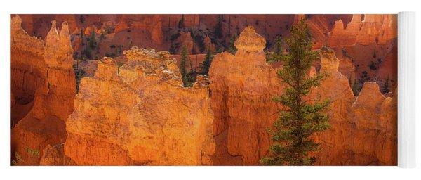 Bryce Canyon And Tree Yoga Mat