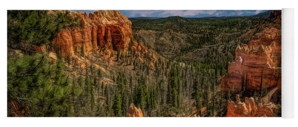 Bryce Canyon From The Top Yoga Mat