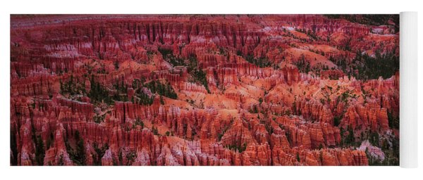 Bryce Canyon In The Glow Of Sunset Yoga Mat