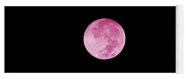 Bubblegum Moon Yoga Mat
