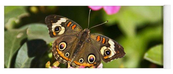 Buckeye Butterfly Yoga Mat